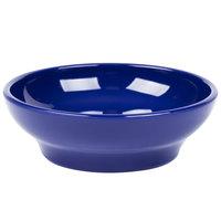 Carlisle 4312560 Cobalt Blue SAN Plastic 5 oz. Salsa Dish - 48 / Case