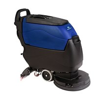 Pacific 855401 S-20 20 inch Walk Behind Auto Floor Scrubber with Pad Assist Drive - 130AH Lead Acid Wet Batteries with Charger