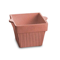 Tablecraft CW1460GG 1.5 Qt. Ginger Cast Aluminum Square Condiment Bowl