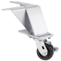 Bakers Pride S1115Y Legs with Casters - 4 / Set