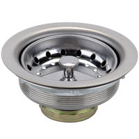 Regency 3 1/2 inch Basket Drain with Strainer - 1 1/2 inch IPS