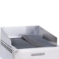 Bakers Pride H1530S-10 Dante Series Stainless Steel Splashguard