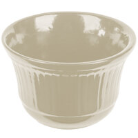 Tablecraft CW1453IV 16 oz. Ivory Cast Aluminum Condiment Bowl