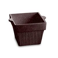 Tablecraft CW1460MIS 1.5 Qt. Midnight Speckle Cast Aluminum Square Condiment Bowl