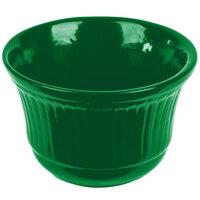 Tablecraft CW1453GN 16 oz. Green Cast Aluminum Condiment Bowl