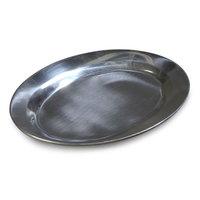 Aluminum 12 1/2 inch x 8 1/2 inch Steak / Fajita Platter