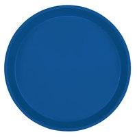 Cambro 1000123 10 inch Round Amazon Blue Fiberglass Camtray - 12 / Case
