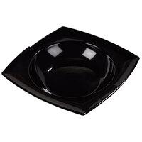 Carlisle 3331803 Rave Displayware Black 2.5 Qt. Bowl with Rim - 6/Case