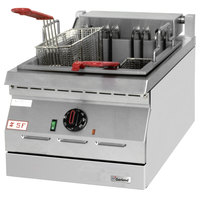 Garland ED-15SF Designer Series 17 lb. Electric Countertop Super Deep Fryer - 208V, 3 Phase, 8 kW