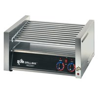 Star 30C Grill-Max 30 Hot Dog Roller Grill with Chrome Rollers - Slanted