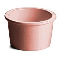 Tablecraft CW1660GG 17 oz. Ginger Cast Aluminum Condiment Bowl