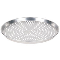 American Metalcraft HADEP6SP 6 inch x 1 inch Deep Dish Tapered Super Perforated Pizza Pan - Heavy Weight Aluminum