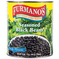 Furmano's Seasoned Black Beans #10 Can