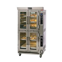 Doyon JAOP6G Double Deck Jet Air Gas Oven Proofer Combo - 65,000 BTU