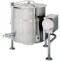 Cleveland KEL-25-T 25 Gallon Tilting 2/3 Steam Jacketed Electric Kettle - 208/240V