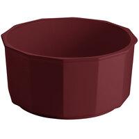 Tablecraft CW1810TC 8.5 Qt. Terra-Cotta Cast Aluminum Prism Bowl