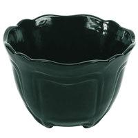 Tablecraft CW1454HGN 1.3 Qt. Hunter Green Cast Aluminum Round Condiment Bowl