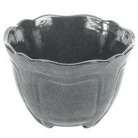 Tablecraft CW1454GR 1.3 Qt. Granite Cast Aluminum Round Condiment Bowl