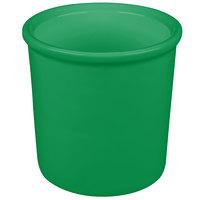 Tablecraft CW1665GN 1.25 Qt. Green Cast Aluminum Condiment Bowl