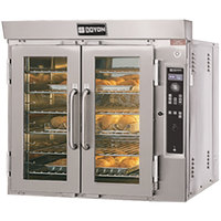 Doyon JA6G Jet Air Single Deck Gas Bakery Convection Oven - 65,000 BTU