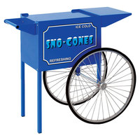 Paragon 3050010 Medium Snow Cone Cart for 1911 Sno Storm and Blizzard Machines