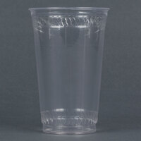 Fabri-Kal Greenware GC20 20 oz. Customizable Compostable Clear Plastic Cold Cup - 1000/Case
