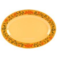 GET OP-630-VN Venetian Oval Platter - 6/Pack
