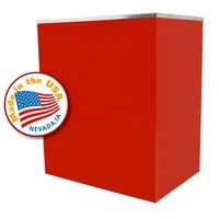 Paragon 3100310 Red Classic Pop Popcorn Stand for 16 oz. Poppers