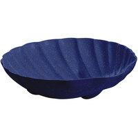 Tablecraft CW17025BS D 6 Gallon Blue Speckle Cast Aluminum Large Shell Bowl