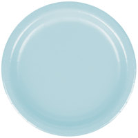 Creative Converting 79157B 7 inch Pastel Blue Paper Lunch Plate - 240/Case