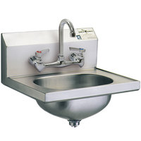 Eagle Group HSA-10-8F with Splash Mount Faucet and Basket Drain
