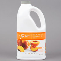 Torani 64 oz. Peach Fruit Smoothie Mix
