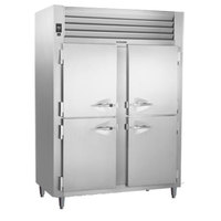 Traulsen AHT232WPUT-HHS 54.2 Cu. Ft. Half Door Two Section Pass-Through Refrigerator - Specification Line