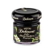 Dickinson's Marion Blackberry Fruit Preserves - (72) 1 oz. Glass Jars / Case