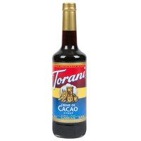 Torani 750 mL Creme de Cacao Flavoring Syrup