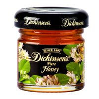 Dickinson's Pure Clover Honey - (72) 1.1 oz. Glass Jars / Case