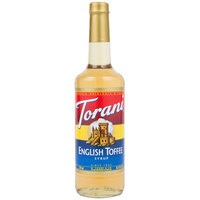 Torani 750 mL English Toffee Flavoring Syrup