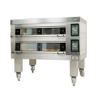 Doyon 4T2 Artisan 2 Stone Side Load 56 inch Deck Oven - 8 Pan Capacity