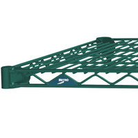 Metro 1460N-DHG Super Erecta Hunter Green Wire Shelf - 14 inch x 60 inch
