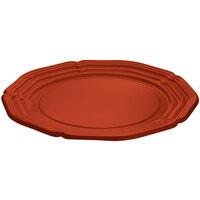 Tablecraft CW6120CP Copper 21 inch Cast Aluminum Queen Anne Round Platter