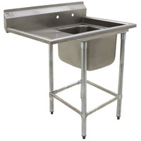 Eagle Group FN2018-1-18-14/3 One 20 inch x 18 inch Bowl Stainless Steel Spec-Master Commercial Compartment Sink with 18 inch Drainboard