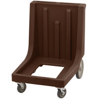 Cambro CD1826MTCHB131 Dark Brown Camdolly