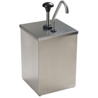 Carlisle 386010 High Volume Condiment Dispenser with Stainless Steel Pump