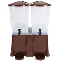 Tablecraft TW54DP 3 Gallon Double Slimline Beverage / Juice Dispenser