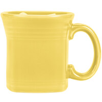 Homer Laughlin 923320 Fiesta Sunflower 13 oz. Square Mug - 12/Case