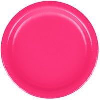 Creative Converting 79177B 7 inch Hot Magenta Pink Paper Plate - 240/Case