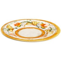 Elite Global Solutions D8P Tuscany 8 1/2 inch Design Melamine Plate