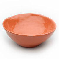 Elite Global Solutions D675B Tuscany 24 oz. Sunburn Terra Cotta Melamine Bowl