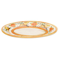 Elite Global Solutions D912OV Tuscany 12 inch Design Melamine Oval Platter