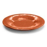 Elite Global Solutions D8P Tuscany 8 1/2 inch Sunburn Terra Cotta Melamine Plate
